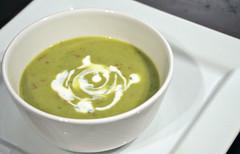 cream of mushroom soup(0.0), produce(0.0), food(1.0), leek soup(1.0), dish(1.0), soup(1.0), cuisine(1.0),