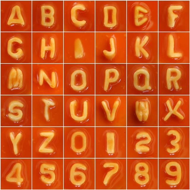Alphabet Food For Letter S