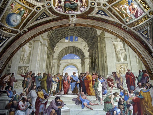 The School of Athens — Raphael