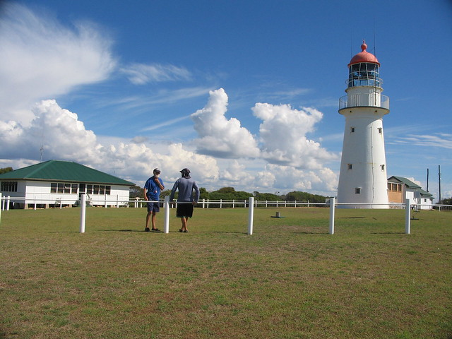 Lighthouse and keepers cottage