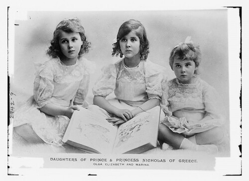 Daughters of Prince and Princess of Greece: Olga, Eliy, & Marina  (LOC)