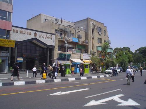 Pensão Farvardin em Teerão Irão