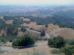 The View from Mt. Hamilton