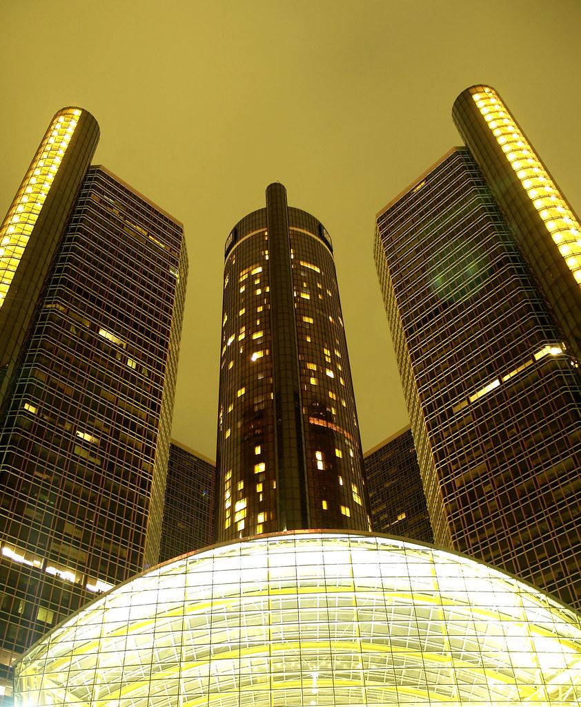 Renaissance Center/General Motors Headquarters