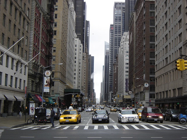 New York: 6th Avenue At Central Park