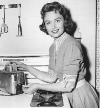 Donna Reed As Patron Saint of Homemakers