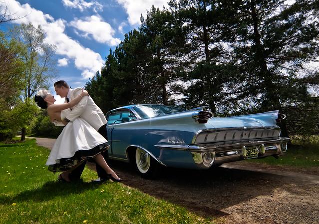 50 39s Style Wedding