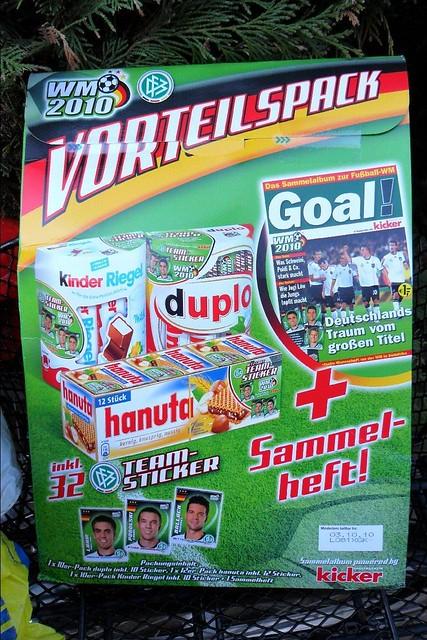Auch von Ferrero: Hanuta