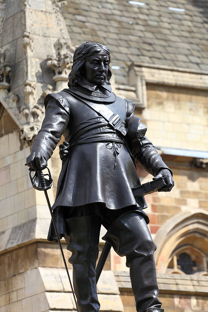 Oliver Cromwell does not approve