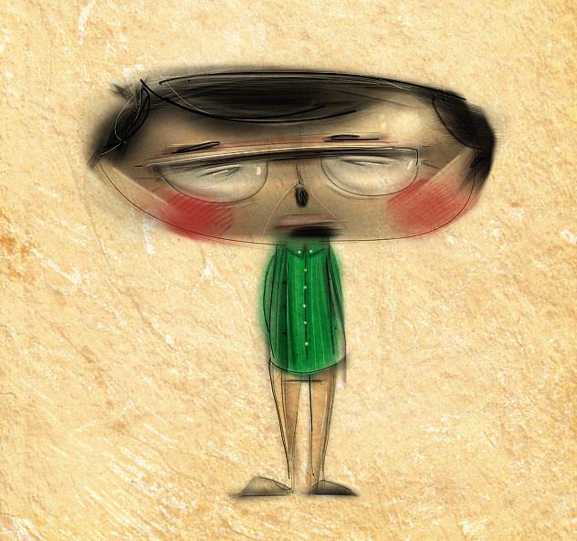 Wise Guy iPad illustration