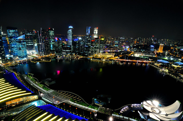 Overview of Marina Bay