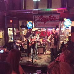 bluegrassin\' it up at Layla\'s