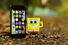 """If you don't have an iPhone, well, SpongeBob have an iPhone..."" by Neo-grapher"