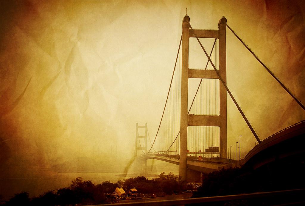 #029 Tsing Ma in fog