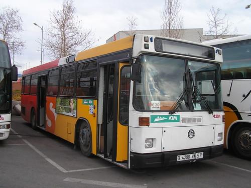 Autobus Pegaso de l'empresa CASAS de Mataró (Barcelona)