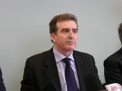 Minister Manolis Chrysochoidis. Photo by Flickr user Piazza del Popolo (CC BY 2.0).