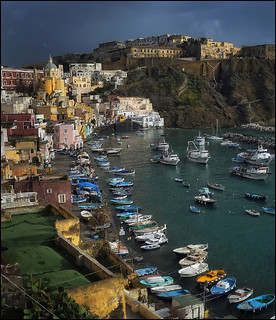 Procida - Corricella in winter