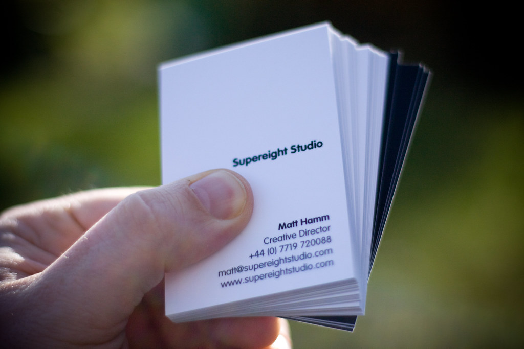 Supereight Studio Business Cards