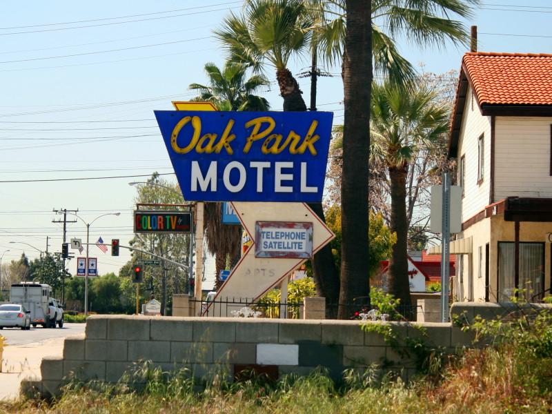 Oak Park Motel Monrovia Ca