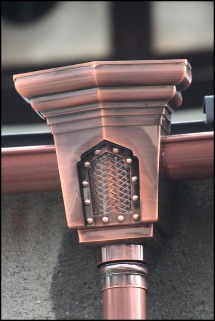 Jp Kyo Downspouts Copper 05 Ira Serkes Flickr