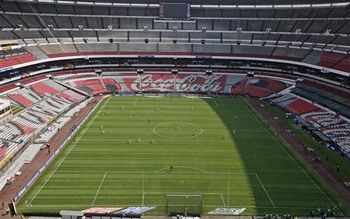 estadio azteca aztec stadium in mexico city flickr