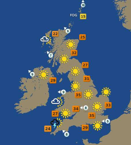 Weather Forecast Map : Measuring the weather primary school geography encyclopedia