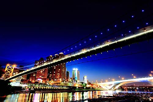 194I碧潭吊橋-夜景