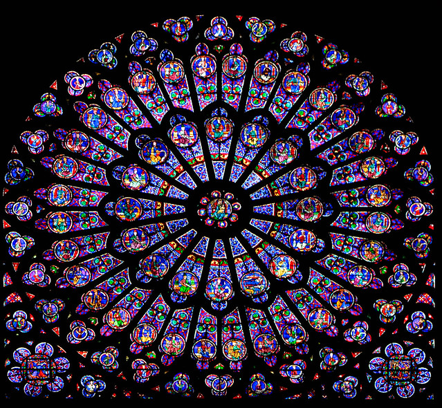 Rayonnant gothic a gallery on flickr for Rose window design