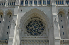 Rose Window from the outside, Washington National Cathedral, Washington, DC