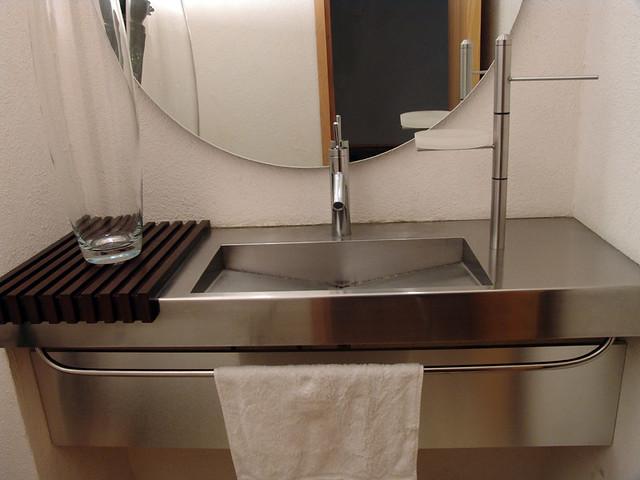 Botiquin Para Baño De Acero Inoxidable:Lavabo en Acero Inoxidable Diseño y fabricacion de Muebles de baño