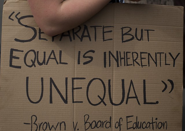 """a review of the movie separate but equal Board of education (1954) houston's brilliant plan to attack and defeat jim crow segregation by using the inequality of the """"separate but equal"""" doctrine (from the supreme court's plessy v in 1922, he became the first african american to serve as an editor of the harvard law review after studying at the university of."""