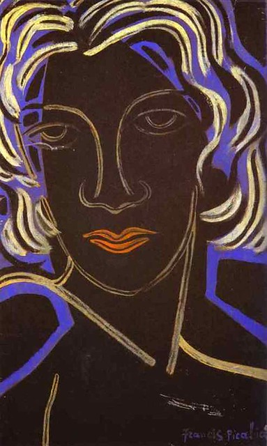 Picabia, Francis (1879-1953) - 1936 Face of a Woman