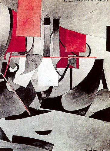 Picabia, Francis (1879-1953) - 1913 Dancer on a Transatlantic Steamer