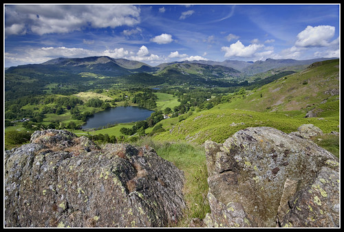 Views from Loughrigg fell