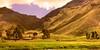 Peru - Andenhochland - Interessante Landschaft Richtung La Raya-Pass   - 846