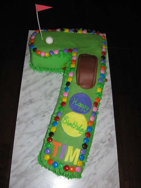 Mini Golf Cake Ideas and Designs