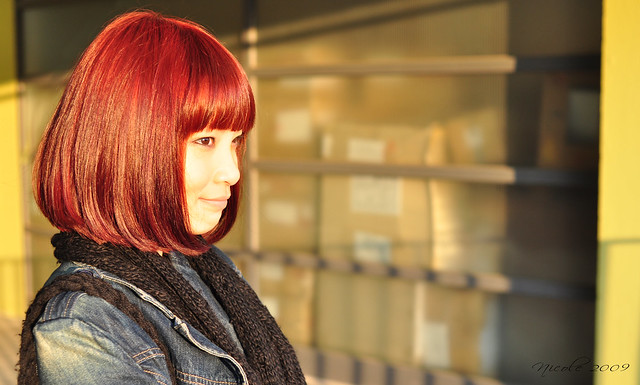 New hair color - Red bob
