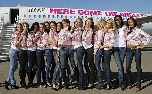 Victorias Secret Models Arrival by kubio