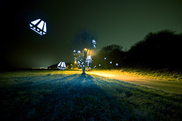 Flickr Spotlight   Light Stenciling Is The New Light Painting