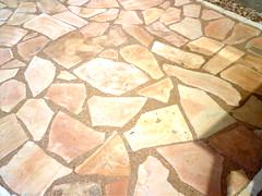 art, flagstone, cobblestone, tile, rock,