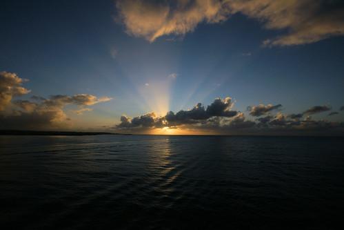 sunset guadalupe caribbeansunset