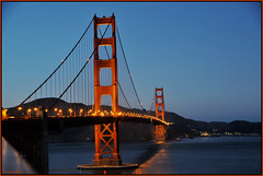 Happy 75th Anniversary! A Bridge NOT Too Far! The Golden Gate Bridge, San Francisco, California At Dusk - IMRAN™ — 750+ Views!