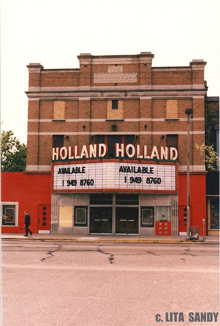 Holland michigan theater also the old new for Tiny house holland michigan