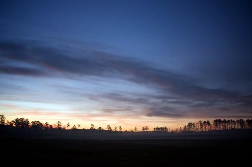 morning oneaday fog sunrise georgia countryside colorful sharpsburg