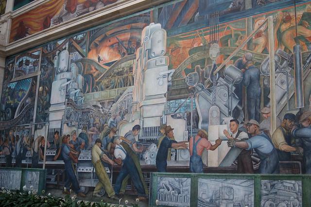 Diego Rivera - Detroit Industry Murals