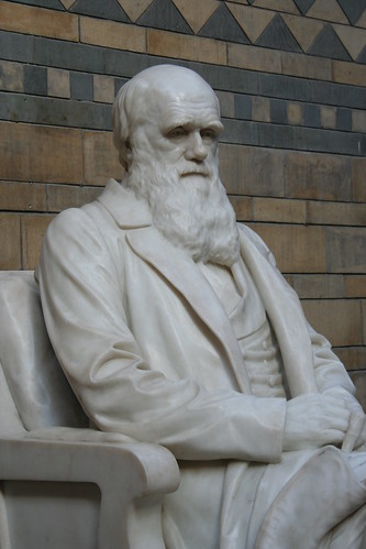 Sculpture of Charles Darwin, Natural History Museum, London