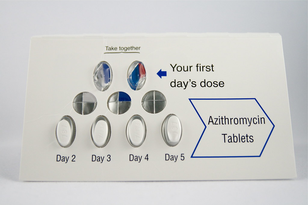 Competitor brand of azithromycin z-pack