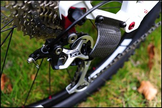 Shadow + carbon guard = invincible derailleur