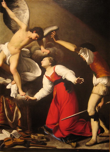 The Martyrdom of St. Cecilia