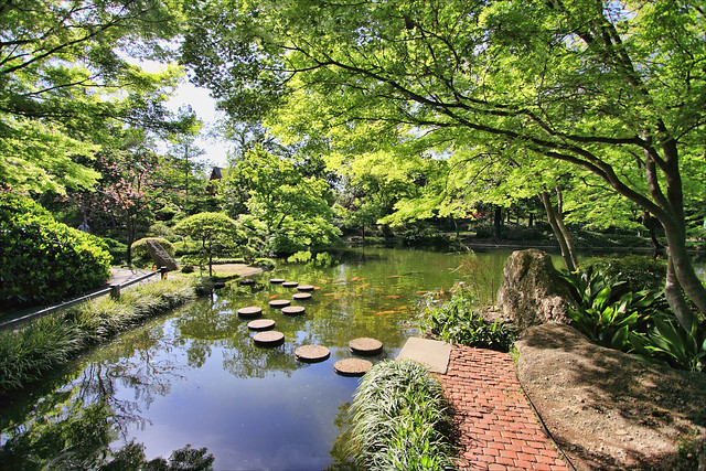 Series Japanese Gardens Fort Worth Tx Flickr Photo Sharing